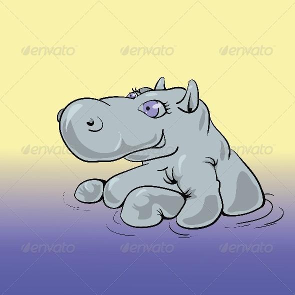 GraphicRiver Hippo 4558155
