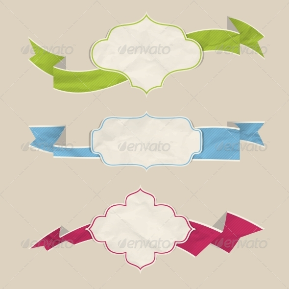 GraphicRiver Ribbons Set 4558165