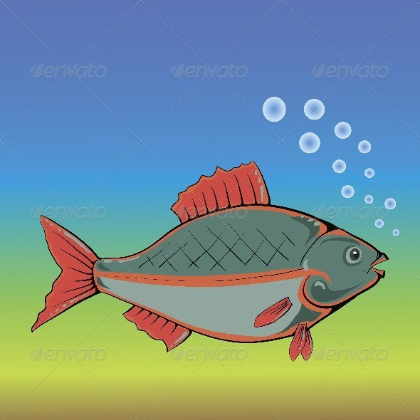 GraphicRiver Fish 4558222