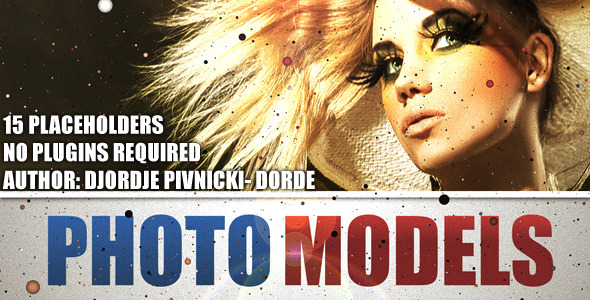 After Effects Project - VideoHive Photo Models 479096