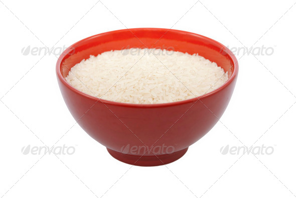 Rice Bowl - Stock Photo - Images