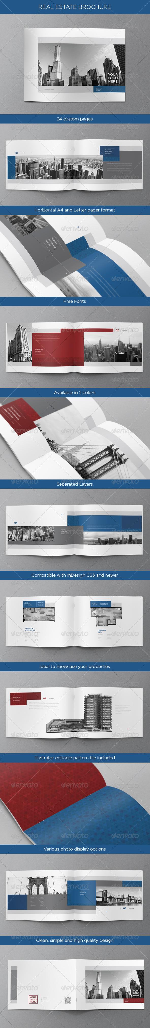 GraphicRiver Real Estate Brochure 4483113