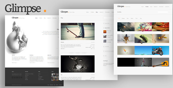Glimpse  - Blog / Magazine WordPress
