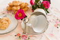 Camellias Biscuits And Teacups - PhotoDune Item for Sale