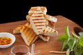 Grilled Bread Stack - PhotoDune Item for Sale