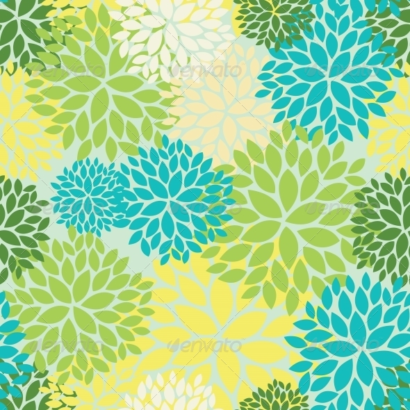 GraphicRiver Floral Seamless Pattern 4560246