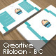 Creative Ribbon - Business Card - GraphicRiver Item for Sale
