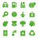 Green Environmental Icons - GraphicRiver Item for Sale