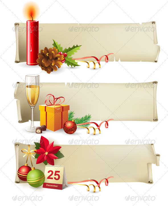 GraphicRiver Christmas Banners 4562454