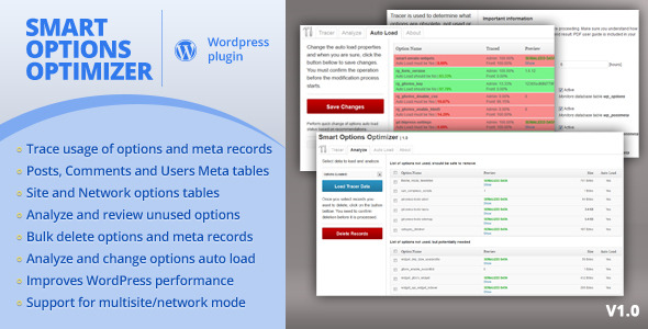 CodeCanyon Smart Options Optimizer 4562514