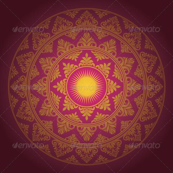 GraphicRiver Circle Ornament Decorative 4563623