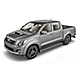 Pickup Double Cab Mock Up - GraphicRiver Item for Sale