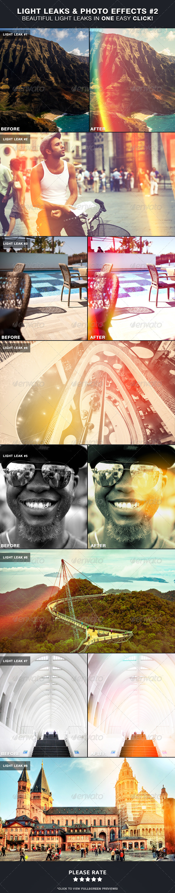 GraphicRiver Light Leaks & Photo Effects #2 4564391