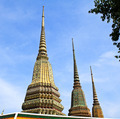 Ancient Pagoda or Chedi at Wat Pho Temple, Thailand - PhotoDune Item for Sale