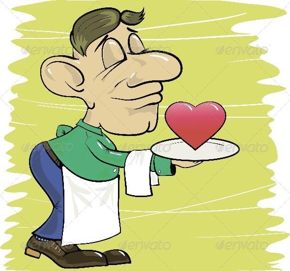 GraphicRiver Waiter 4564822