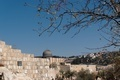 Temple Mount in Jerusalem, with Al-Aqsa Mosque and Old City wall - PhotoDune Item for Sale