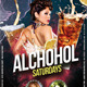 Alcohol Saturday Party - GraphicRiver Item for Sale