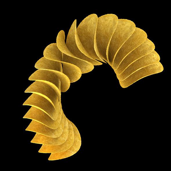 3DOcean Pringles Potatoes 4566262