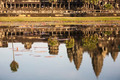 Reflect Angkor wat on water, Cambodia, Siem Reap - PhotoDune Item for Sale