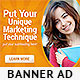 Corporate Web Banner Design Template 13 - GraphicRiver Item for Sale