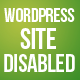 WordPress Site Disabled Page - CodeCanyon Item for Sale