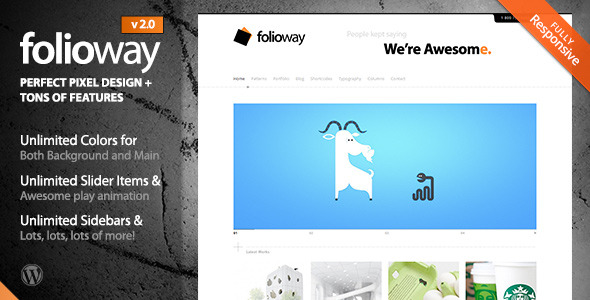 Folioway - Premium Portfolio WordPress Theme