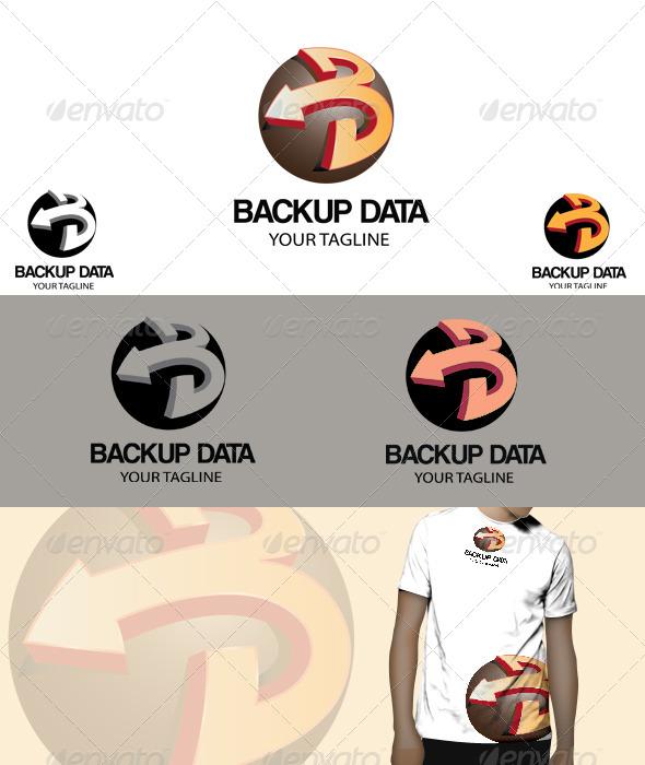 GraphicRiver Back up data Logo 4530870
