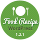 Food Recipes - WordPress Theme - ThemeForest Item for Sale