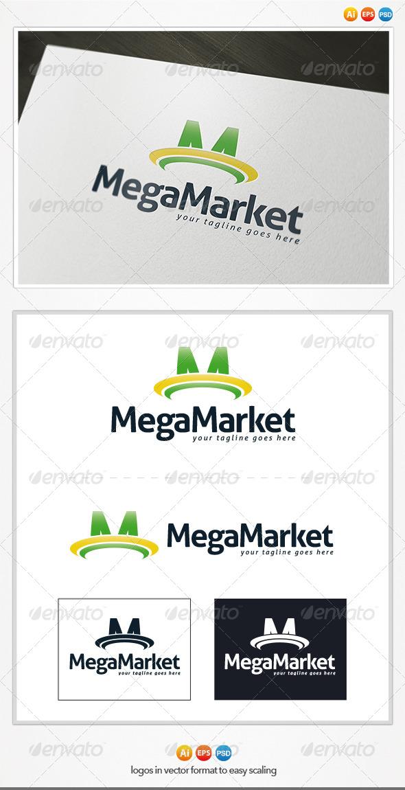 GraphicRiver Maga Market Logo 4572742