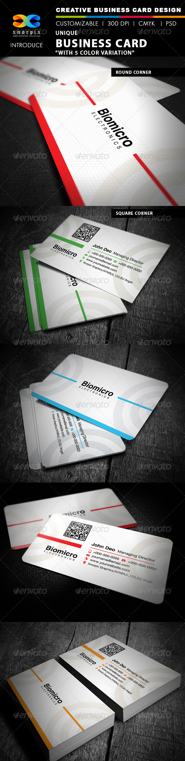 Round Business Card - Corporate Business Cards