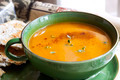 Pumpkin Soup with Paprika and Thyme - PhotoDune Item for Sale