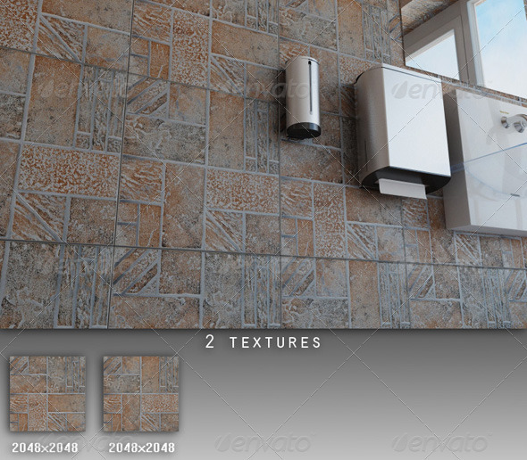 3DOcean Professional Ceramic Tile Collection C022 479654