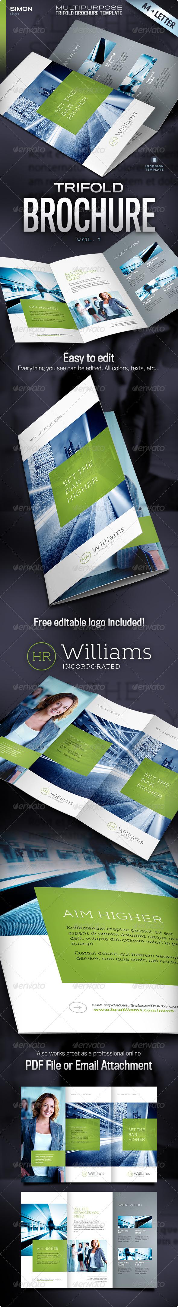 GraphicRiver Trifold Brochure Vol 1 4574051