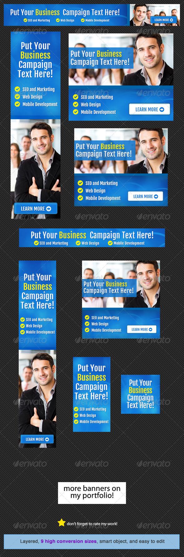 GraphicRiver Corporate Web Banner Design Template 14 4574115