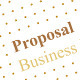 Gold Business Proposal - GraphicRiver Item for Sale