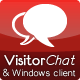 VisitorChat - PHP Chat with Web- &amp;amp; Windows Clients - CodeCanyon Item for Sale