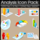 Analysis Icon Pack - GraphicRiver Item for Sale