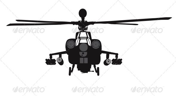 GraphicRiver Helicopter 4576674