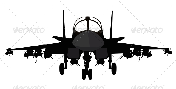 GraphicRiver Military Aircraft 4576675