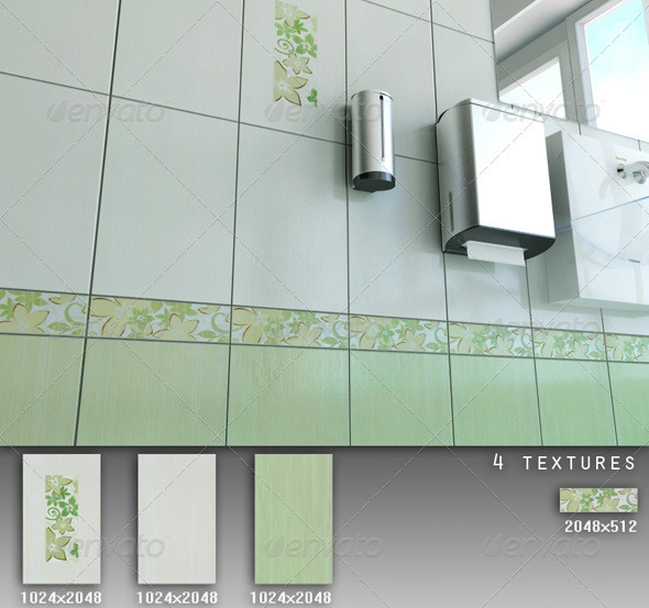 3DOcean Professional Ceramic Tile Collection C027 479704