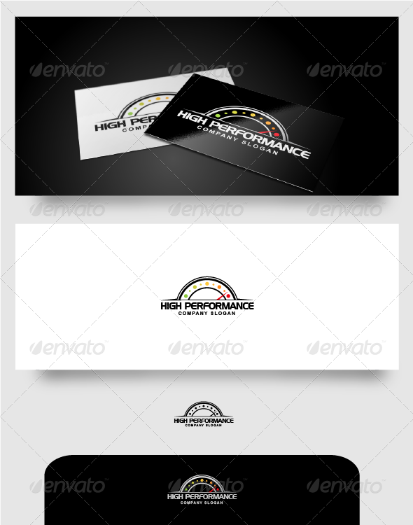GraphicRiver High Performance Logo 4540664