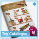 Organic Product A4 Toy Catalogue 4 page  - GraphicRiver Item for Sale