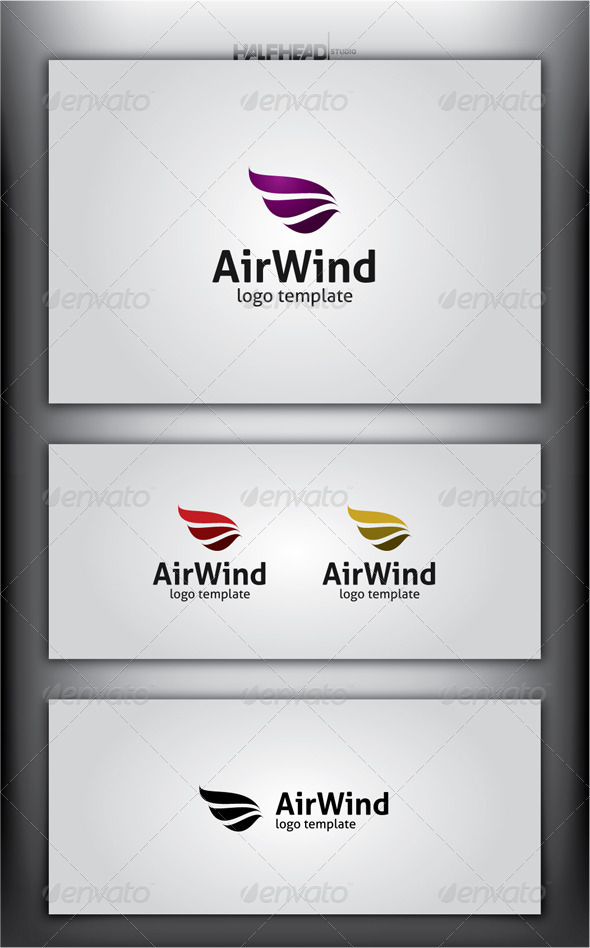 GraphicRiver AirWind Logo Template 4577462