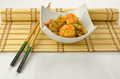 Chinese food, noodles with shrimps - PhotoDune Item for Sale