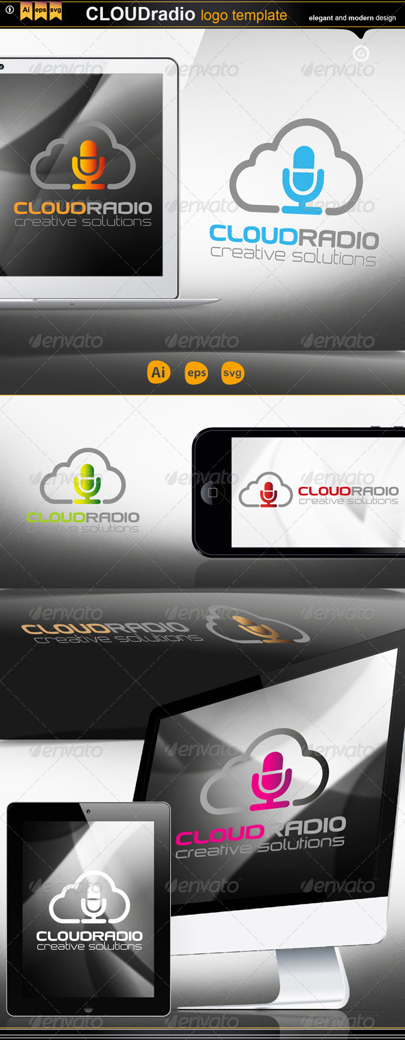 GraphicRiver Cloud Radio 4578203