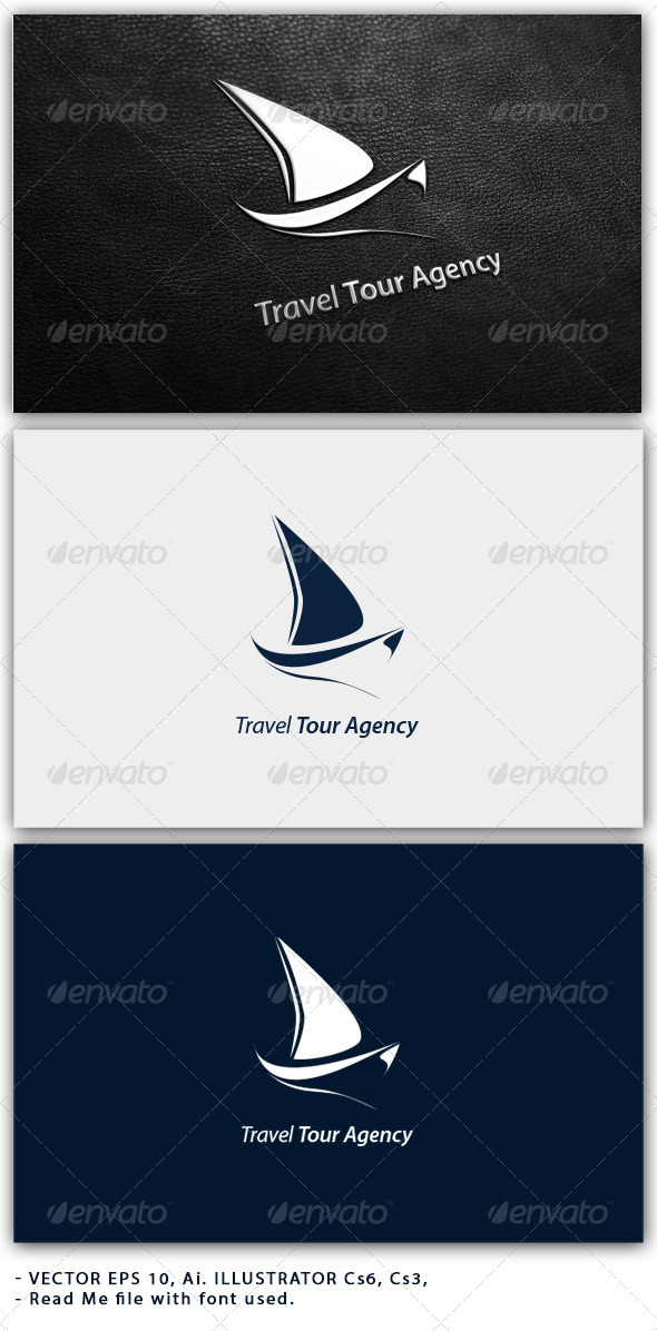 GraphicRiver Travel Tour Agency Logo 4579003