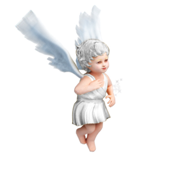 3DOcean Animated Angel With Lighting And Texture 4580100