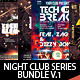 Night Club Series Flyer Bundle V.1 - GraphicRiver Item for Sale