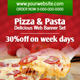 Pizza and Pasta Web Banner Set - GraphicRiver Item for Sale