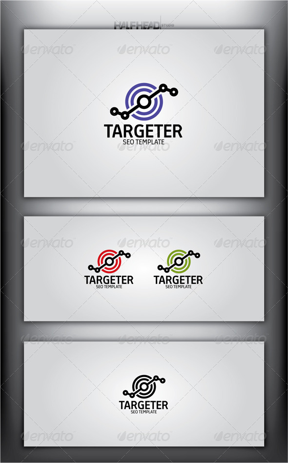 GraphicRiver Targeter Logo Template 4582081